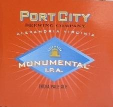 Port City Monumental IPA Beer