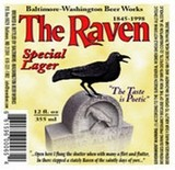 Baltimore Washington The Raven Lager Beer
