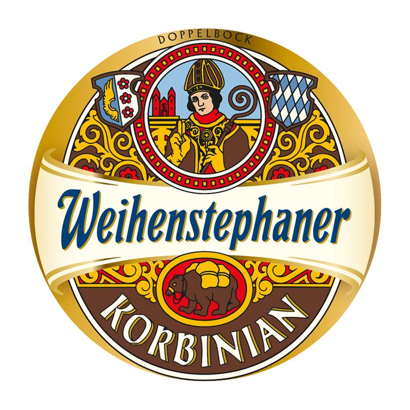 Weihenstephaner Korbinian beer Label Full Size