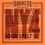 Transmitter NY4 Berliner Weisse beer