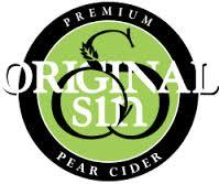 Original Sin Newtown Pippin beer Label Full Size