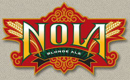 NOLA Blonde beer Label Full Size