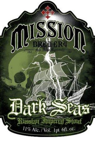 Mission Dark Seas Imperial Stout Beer