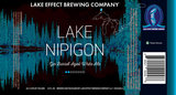 Lake Effect Lake Nipigon beer