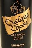 Unibroue Quelque Chose 2010 beer