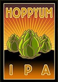 Foothills Hoppyum IPA beer Label Full Size