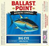 Ballast Point Big Eye IPA Ginger beer