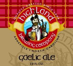 Highland Gaelic Ale beer Label Full Size