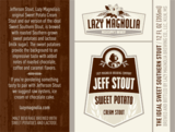 Lazy Magnolia Jefferson Stout Beer