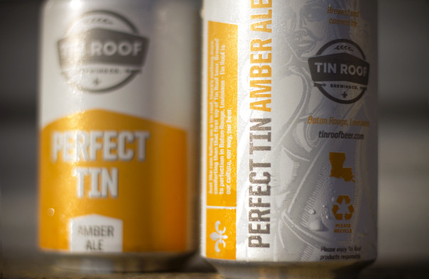 Tin Roof Perfect Tin Amber beer Label Full Size