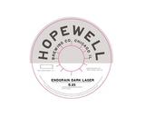 Hopewell Endgrain Dark Lager beer