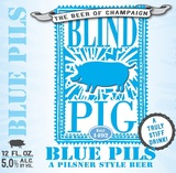 Blind Pig Blue Pils Beer