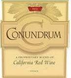 Conundrum Red Blend wine