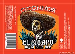 O'Connor El Guapo IPA beer Label Full Size