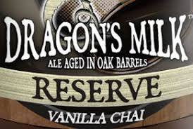 New Holland Dragon's Milk with Vanilla and Chai beer Label Full Size
