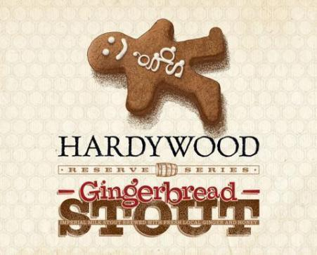 Hardywood Park Gingerbread Stout beer Label Full Size