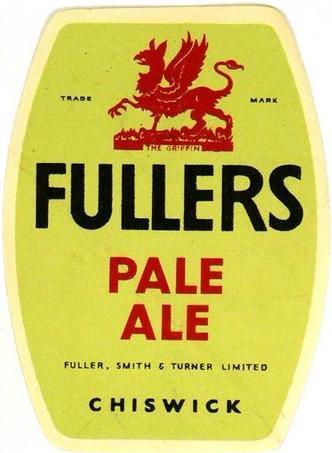 Fuller's Pale Ale beer Label Full Size