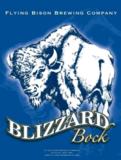 Flying Bison Blizzard Bock beer