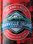 Granville Island Lager beer Label Full Size