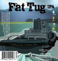 Driftwood Fat Tug IPA beer Label Full Size