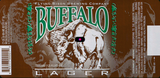 Flying Bison Buffalo Lager beer