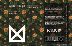 Marz Jungle Boogie with Pineapple Beer
