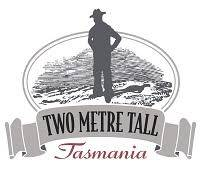 Two Metre Tall Tasmanian Wild Ale beer Label Full Size