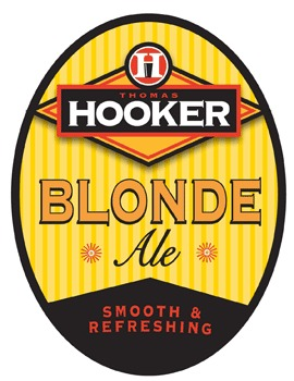 Thomas Hooker Blonde Ale beer Label Full Size