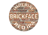 Double Nickel Brickface Red IPA beer