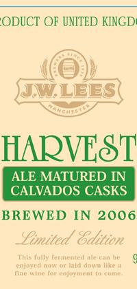 JW Lees Calvados Beer