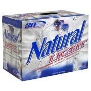 Natural Light beer Label Full Size