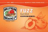 Millstream Peach Fuzz beer