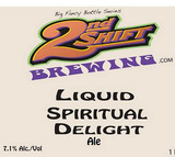 2nd Shift Liquid Spiritual Delight Beer