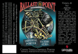 Ballast Point Victory at Sea #9 Whole Vanilla Beans beer