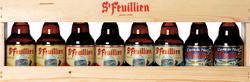 St. Feuillien Gift Pack beer Label Full Size