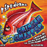 Pipeworks Crimson Snapper Imperial IPA with Blood Orange Beer