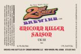 2nd Shift Unicorn Killer beer