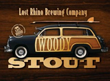 Lost Rhino Woody Stout Beer