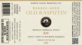 North Coast Old Rasputin 14th Anniversary beer