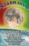 Starr Hill Northern Lights IPA Beer