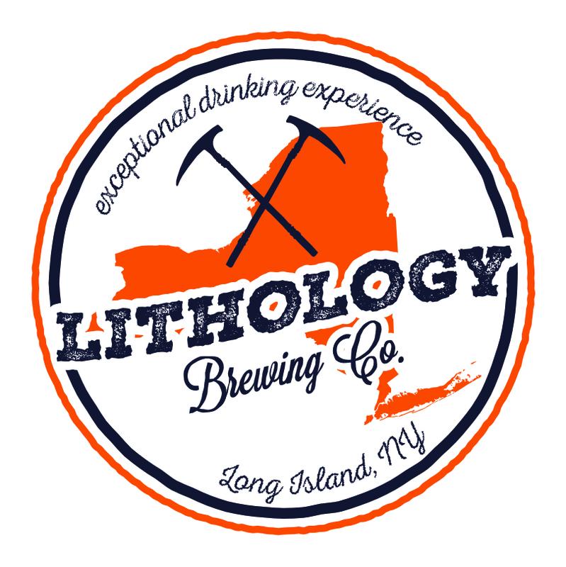 Lithology Red Ale beer Label Full Size