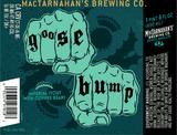 Mactarnahan's Goose Bump beer