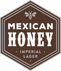 Indeed Mexican Honey Imperial Lager beer Label Full Size
