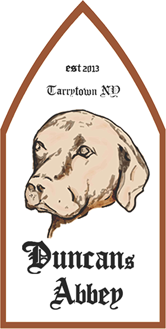 Duncan's Abbey Tarrytown Wild Ale beer Label Full Size