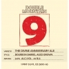 Double Moutain The Divine 9 Bourbon Barrel Aged Brown Anniversary Ale beer Label Full Size