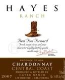 Hayes Ranch Chardonnay wine