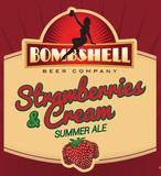 Bombshell Strawberries & Cream beer