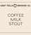 Mini kent falls coffee milk stout 6