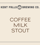 Kent Falls Coffee Milk Stout beer