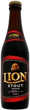 Lion Stout beer Label Full Size